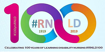 100 years of Learning Disability Nursing Logo.png